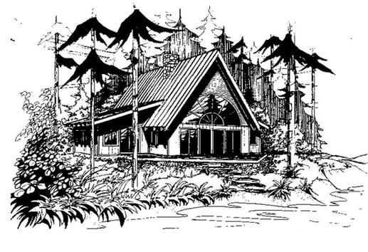 Main image for house plan # 3322