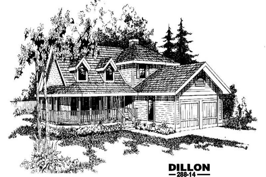 Main image for house plan # 3392