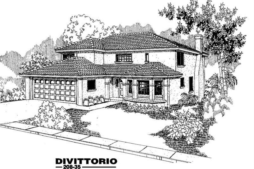 Main image for house plan # 3346