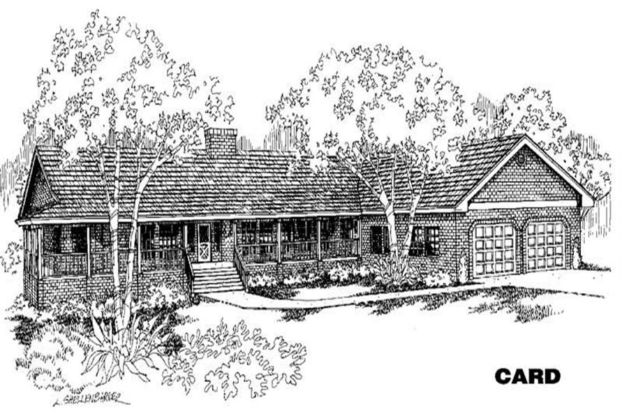 Main image for house plan # 4677