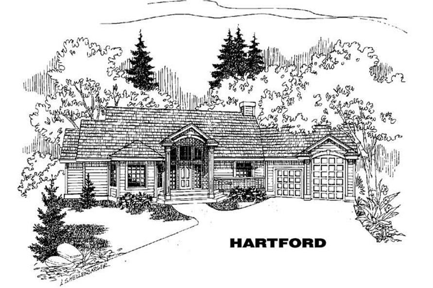 Main image for house plan # 3578