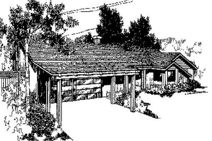 Main image for house plan # 6718