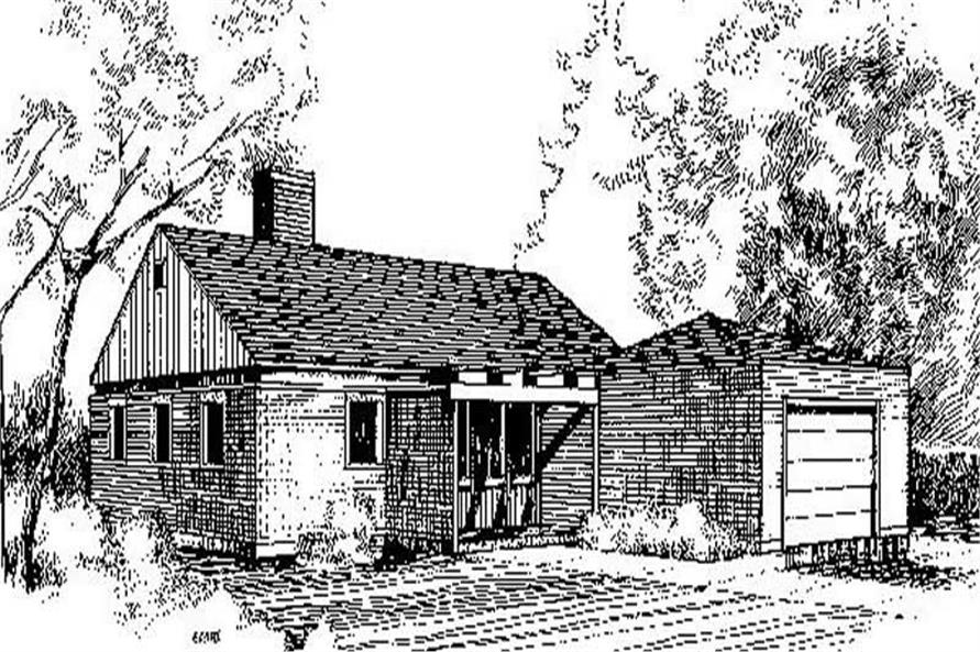 Main image for house plan # 6731