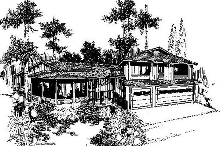 Main image for house plan # 6722
