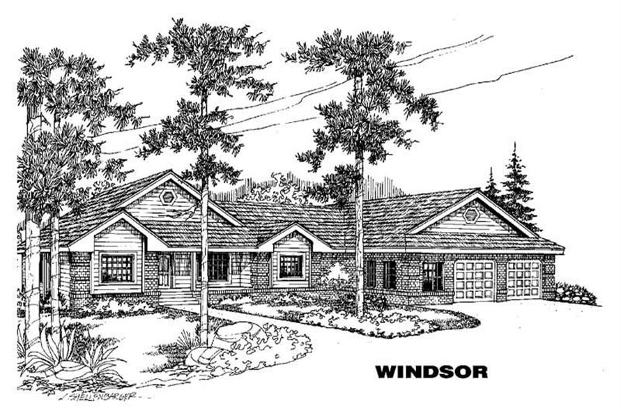Main image for house plan # 3585