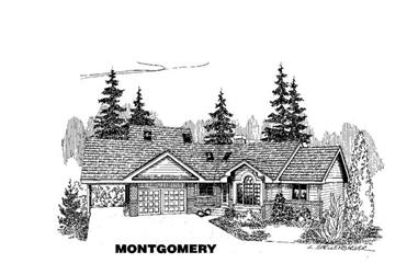 3-Bedroom, 2264 Sq Ft Ranch Home Plan - 145-1299 - Main Exterior
