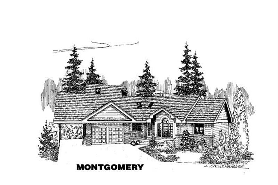 Main image for house plan # 3577