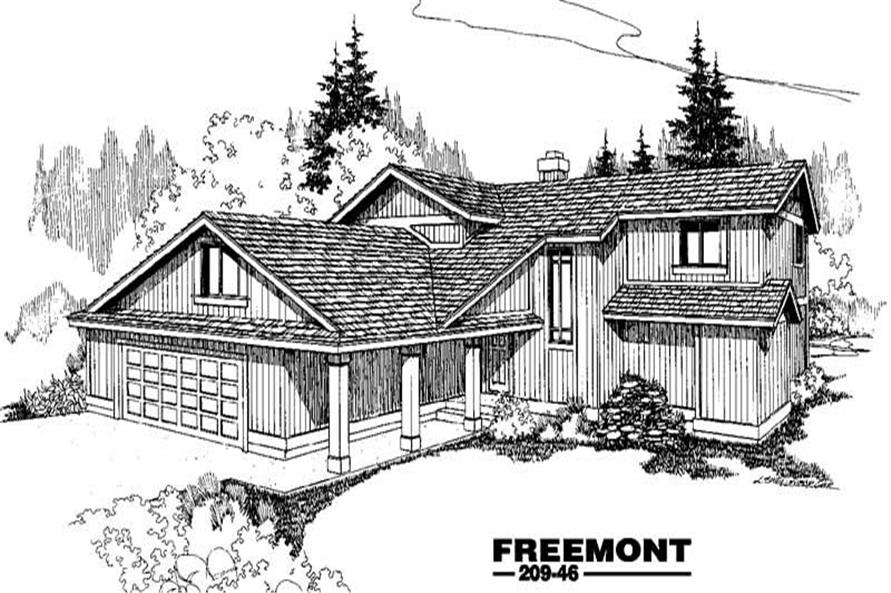 Main image for house plan # 3379