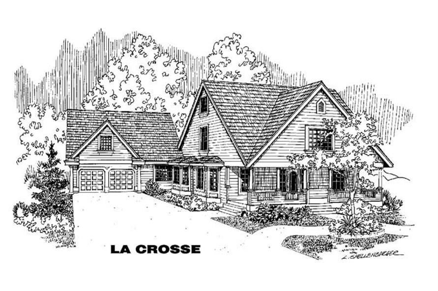 Main image for house plan # 3573