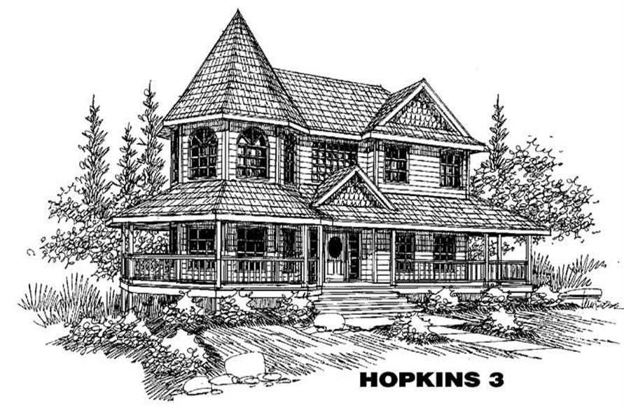 Main image for house plan # 5593