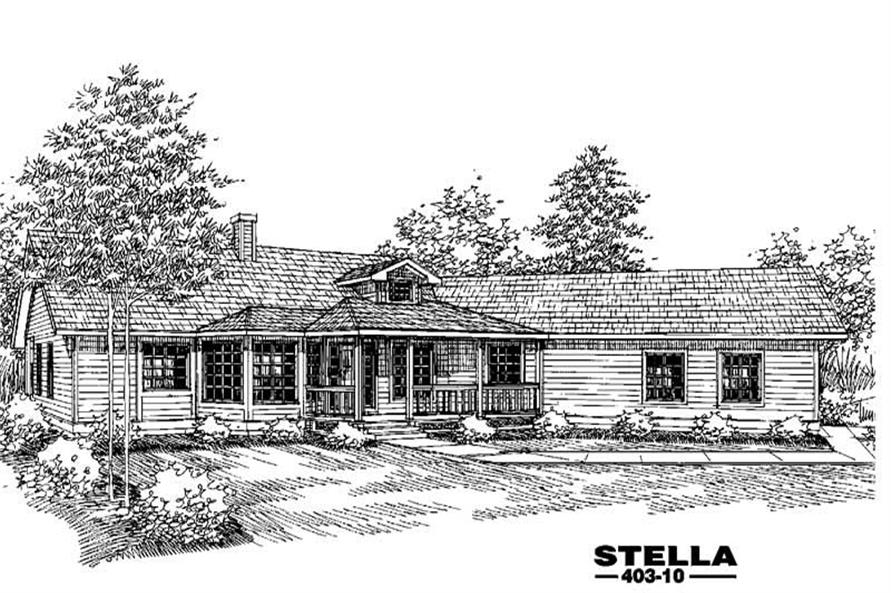 Main image for house plan # 4671