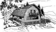 View house Plan#145-1321