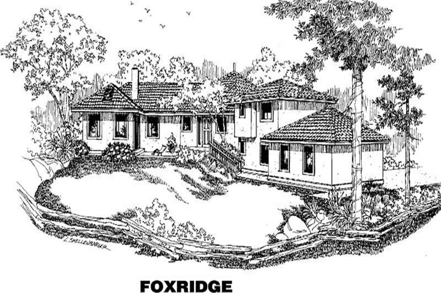 1-Bedroom, 2255 Sq Ft Ranch Home Plan - 145-1332 - Main Exterior