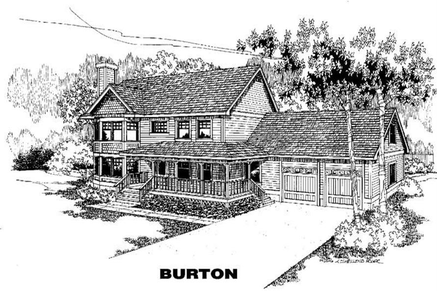 Main image for house plan # 3860