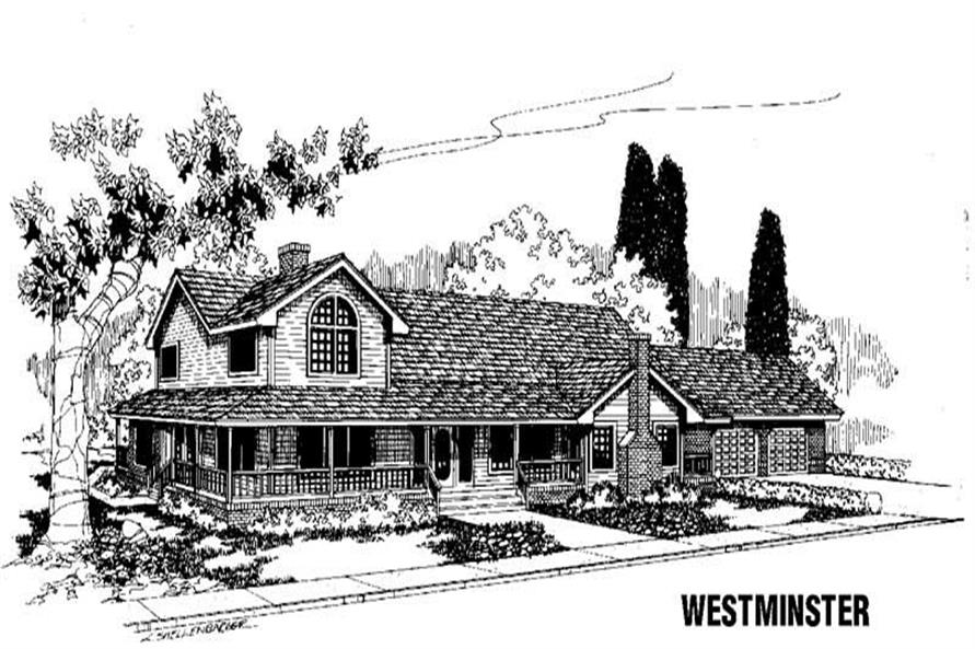 Main image for house plan # 3463