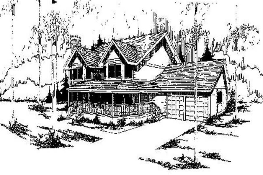 Main image for house plan # 6756