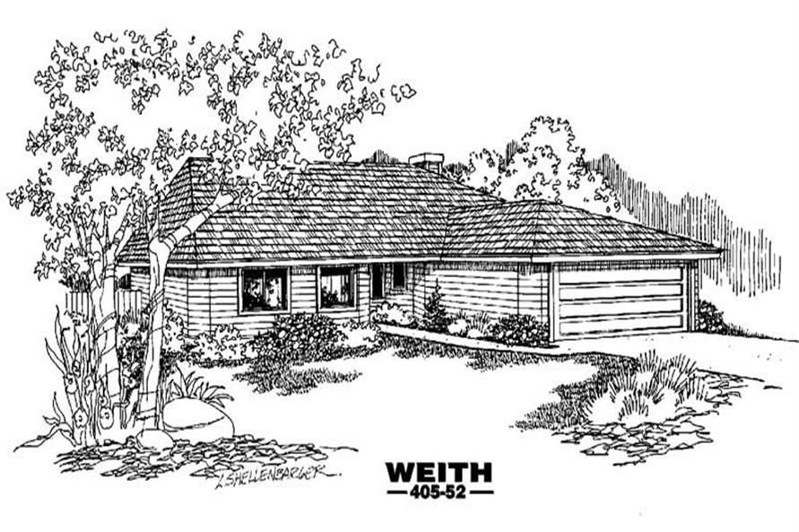 Main image for house plan # 6378