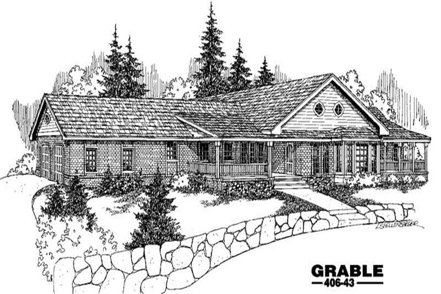 Main image for house plan # 6583