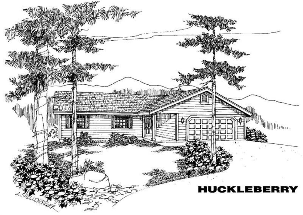 Main image for house plan # 5543
