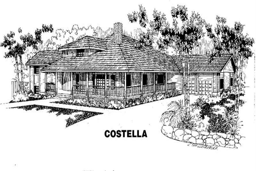 Main image for house plan # 3482