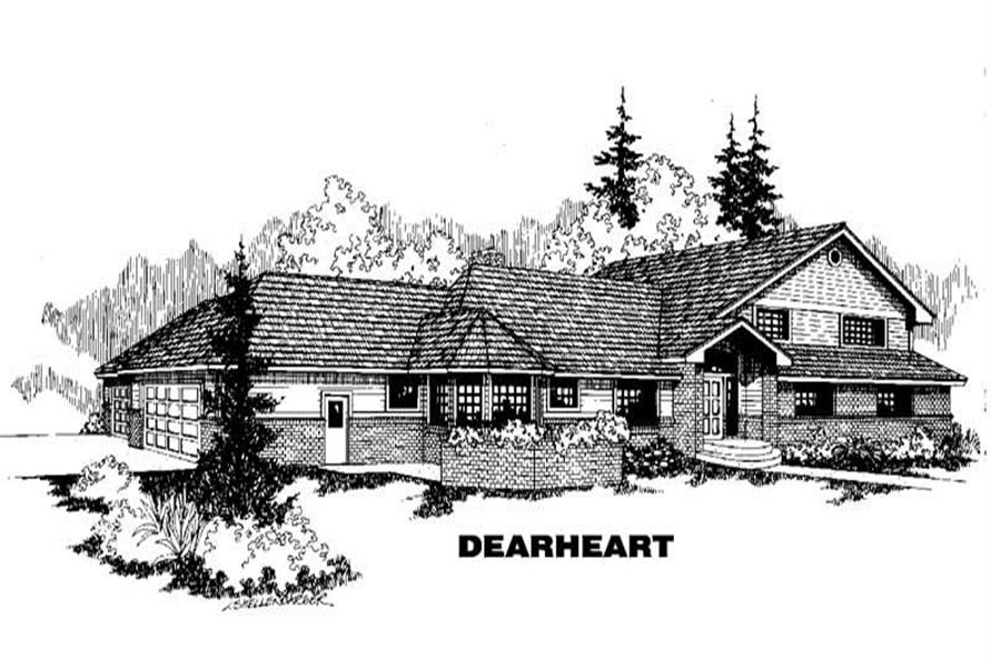 Main image for house plan # 3452