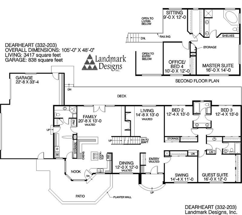 Large images for house plan 145 1385 for Home plan collection