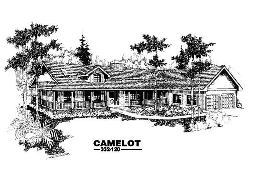 Main image for house plan # 3443