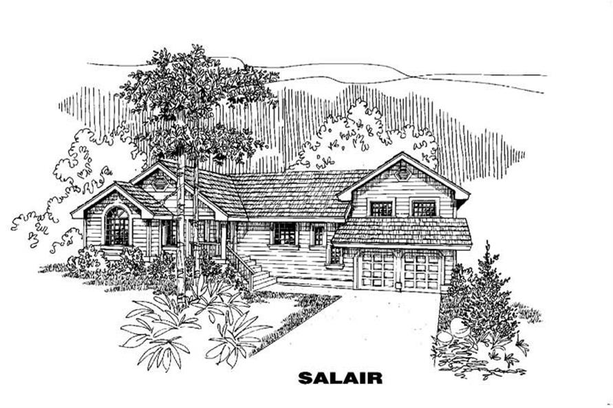 Main image for house plan # 5584