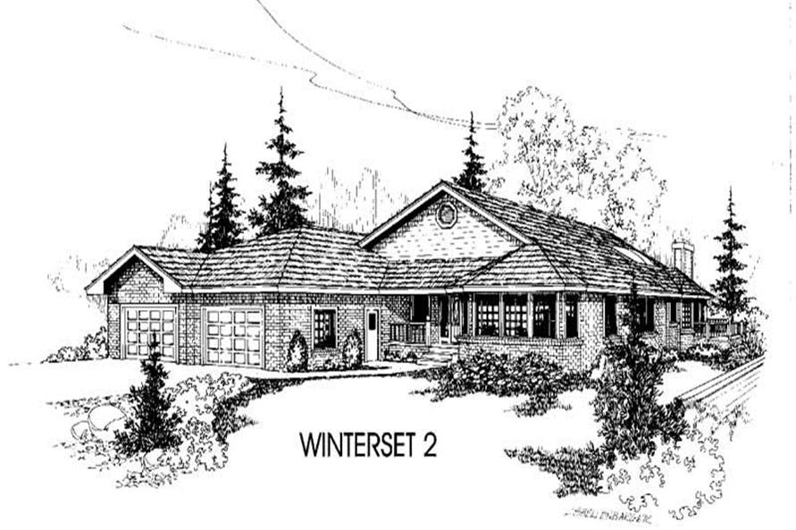 Main image for house plan # 3419