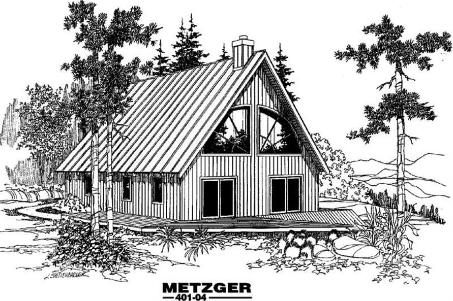 Main image for house plan # 3886