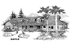 Main image for house plan # 4876