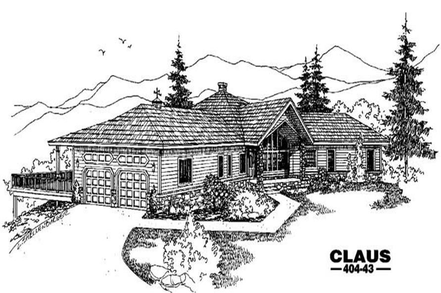 Main image for house plan # 5603