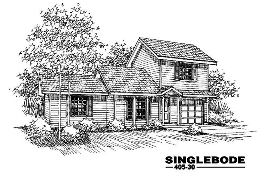 Main image for house plan # 6365