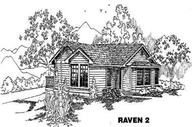 3-Bedroom, 1639 Sq Ft Ranch Home Plan - 145-1416 - Main Exterior