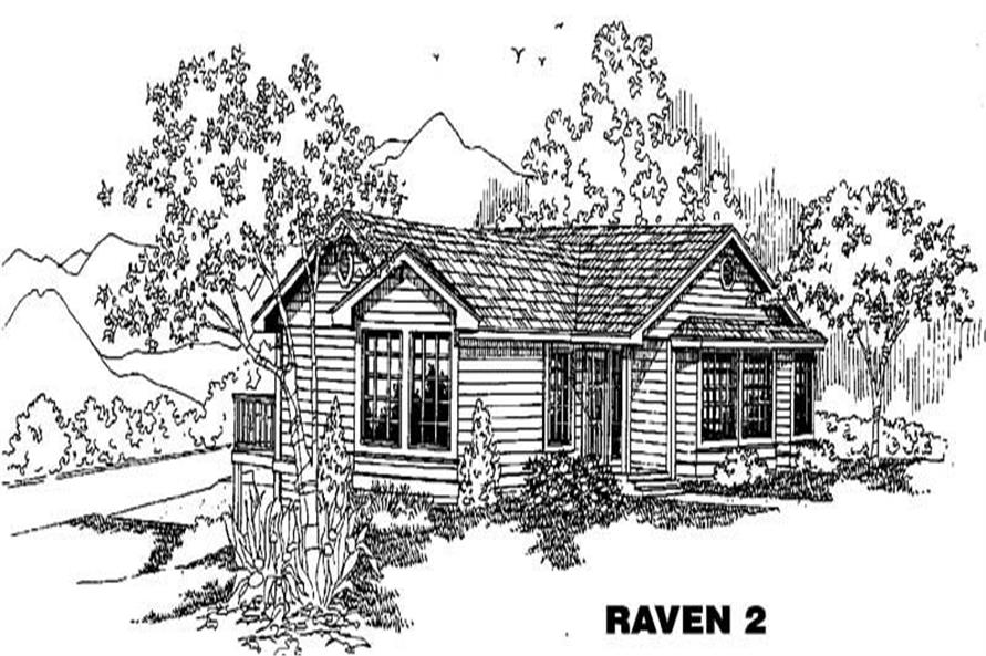 Main image for house plan # 4884
