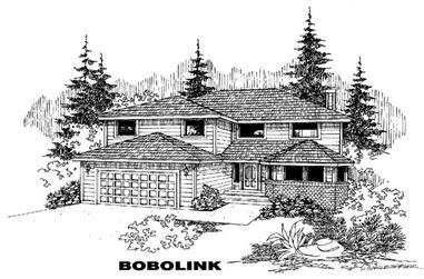 3-Bedroom, 3107 Sq Ft Home Plan - 145-1418 - Main Exterior
