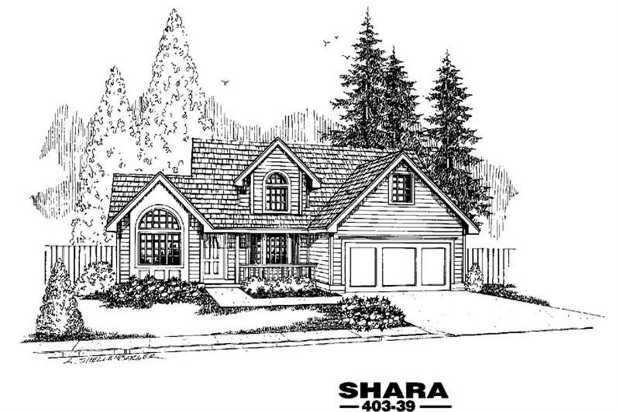 Main image for house plan # 4881