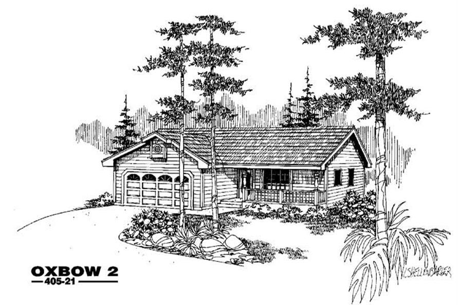 Main image for house plan # 6360