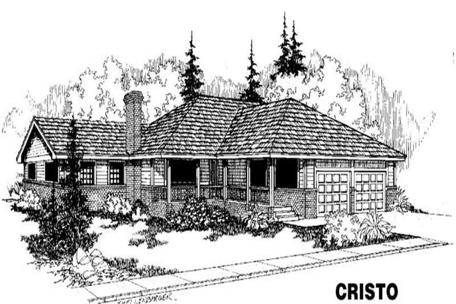 Main image for house plan # 3460