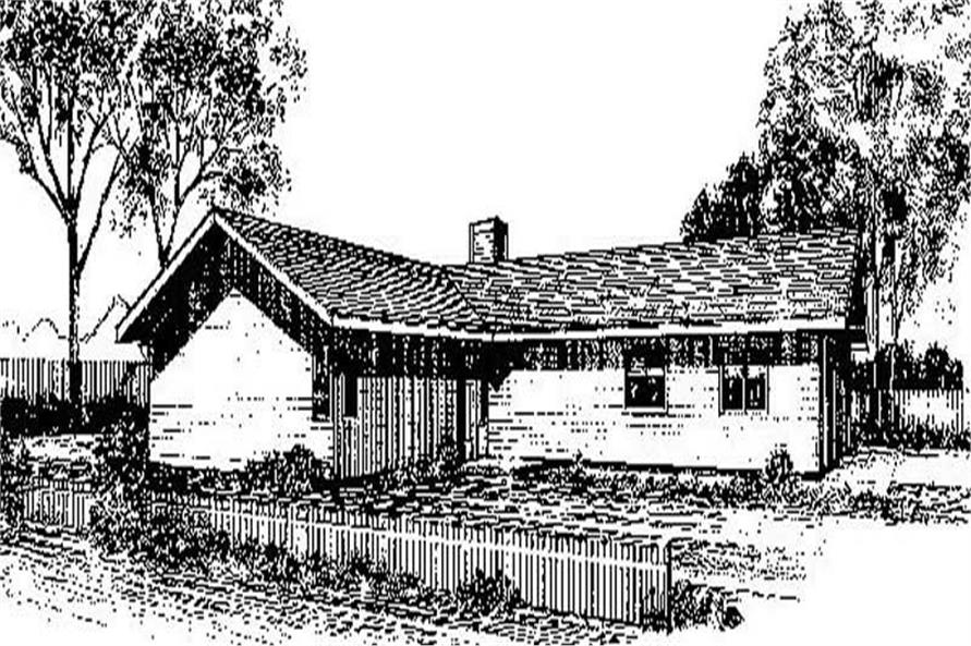 Main image for house plan # 6674