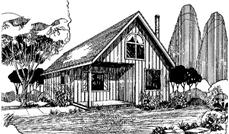 Main image for house plan # 6664