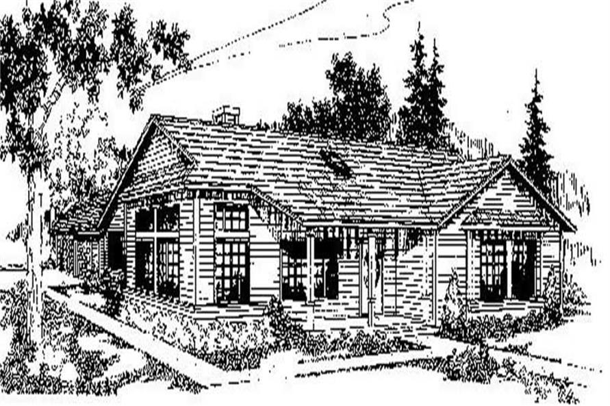 Main image for house plan # 6713