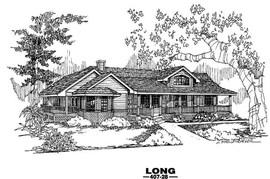 Main image for house plan # 6615