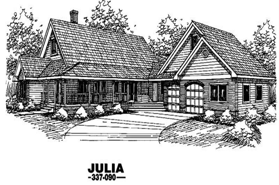 Main image for house plan # 3646