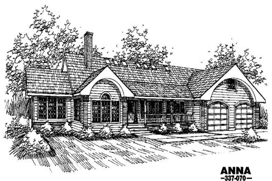 Main image for house plan # 3644