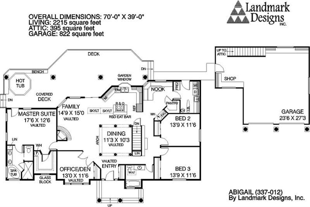 Large Images For House Plan 145 1473