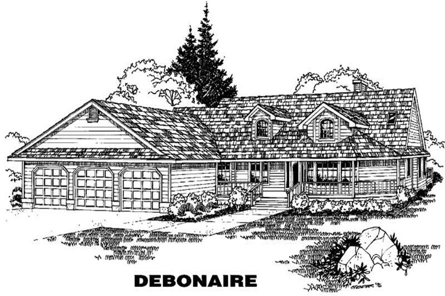 Main image for house plan # 3630