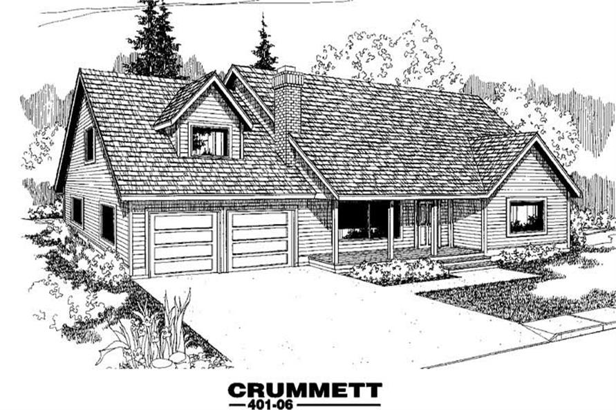 Main image for house plan # 3887
