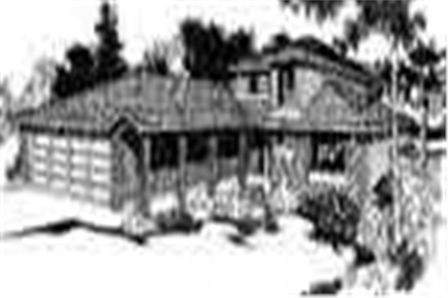 Main image for house plan # 6723
