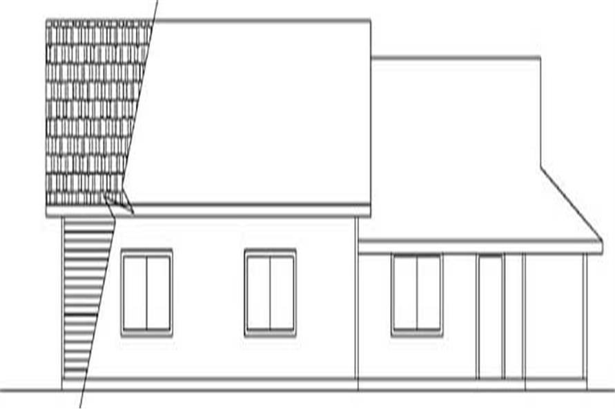 Front Elevation of this house plan